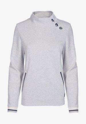 Sweatshirt - heller natur/ecru
