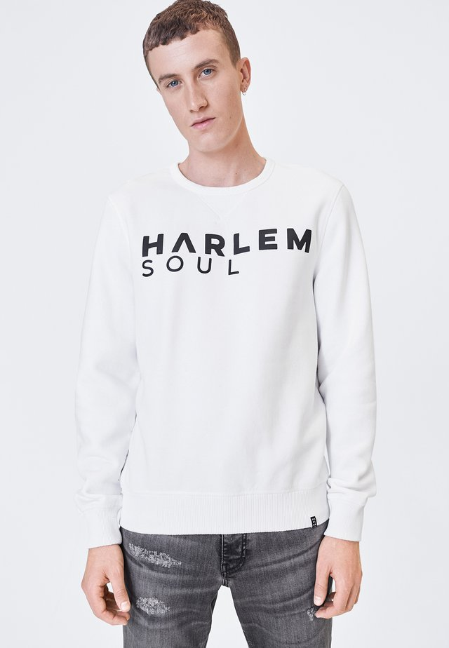 LONDON - Sweatshirt - white