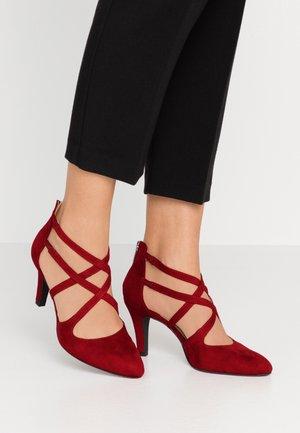 DA.-SLIPPER - Classic heels - lipstick