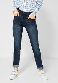 Cecil - Slim fit jeans - blue - 0