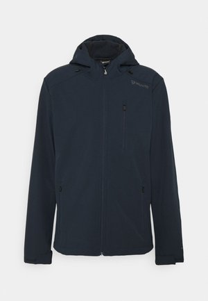 MEN JACKET - Soft shell jacket - navy