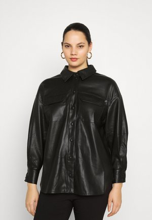 VMPAULINA VIP  - Button-down blouse - black