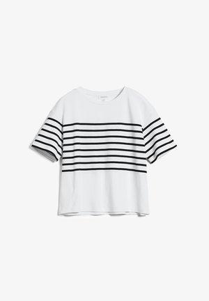 JACINTAA - Print T-shirt - white