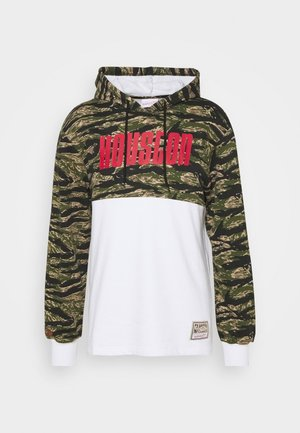 NBA HOUSTON ROCKETS TIGER HOODIE - Klubtrøjer - white