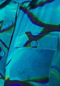 HOSBJERG - RICCI - Button-down blouse - pool - 6