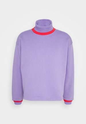 NATHAN TURTLENECK - Mikina - purple haze