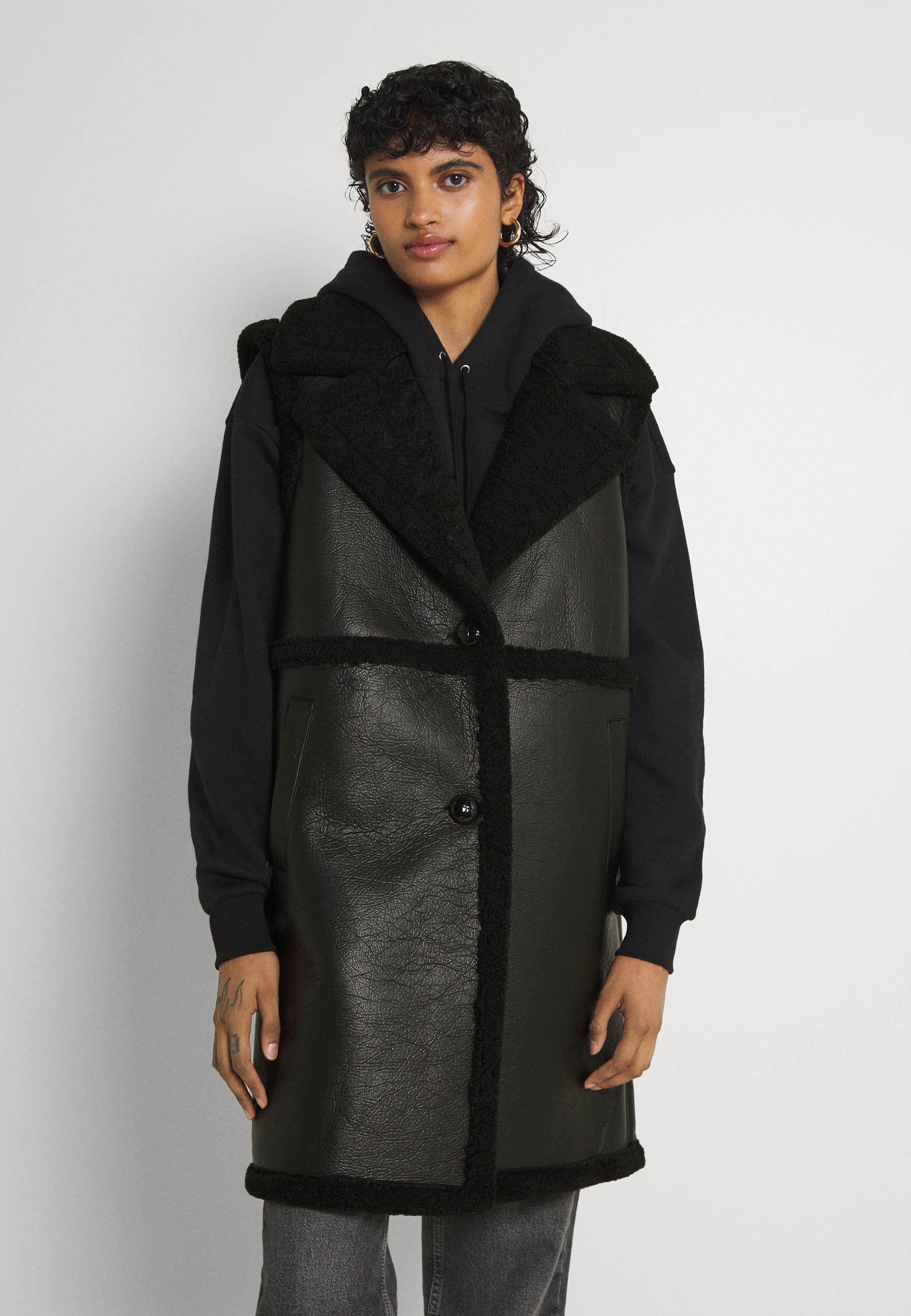 Women ONLEBONY  BONDED WAISTCOAT - Waistcoat