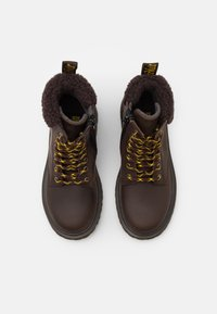 Dr. Martens - 1460 COLLAR REPUBLIC WP - Lace-up ankle boots - dark brown - 3