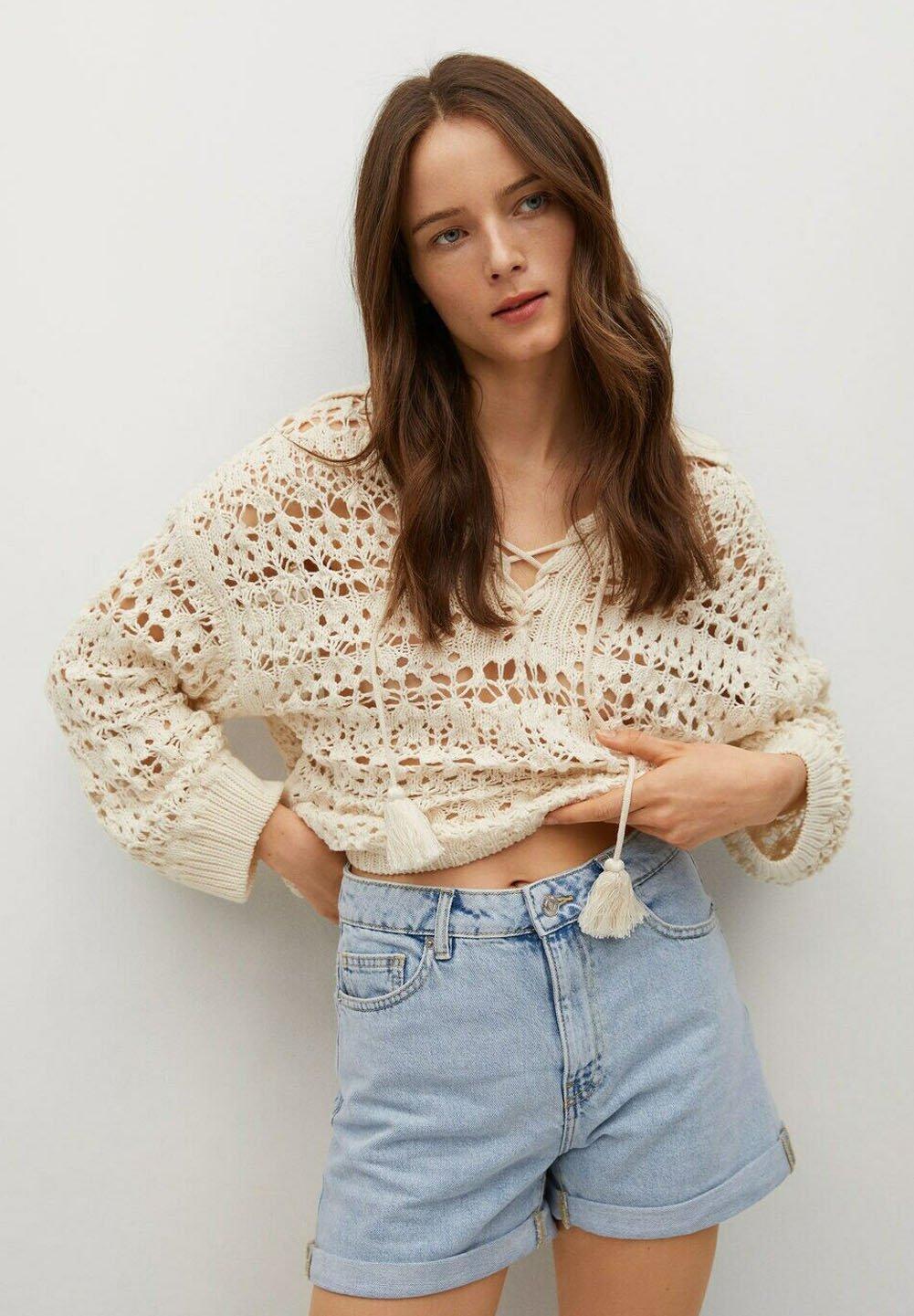 Donna MOM80 - Shorts di jeans