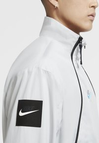 Nike Sportswear - Outdoor jacket - grey fog/black/laser blue - 4