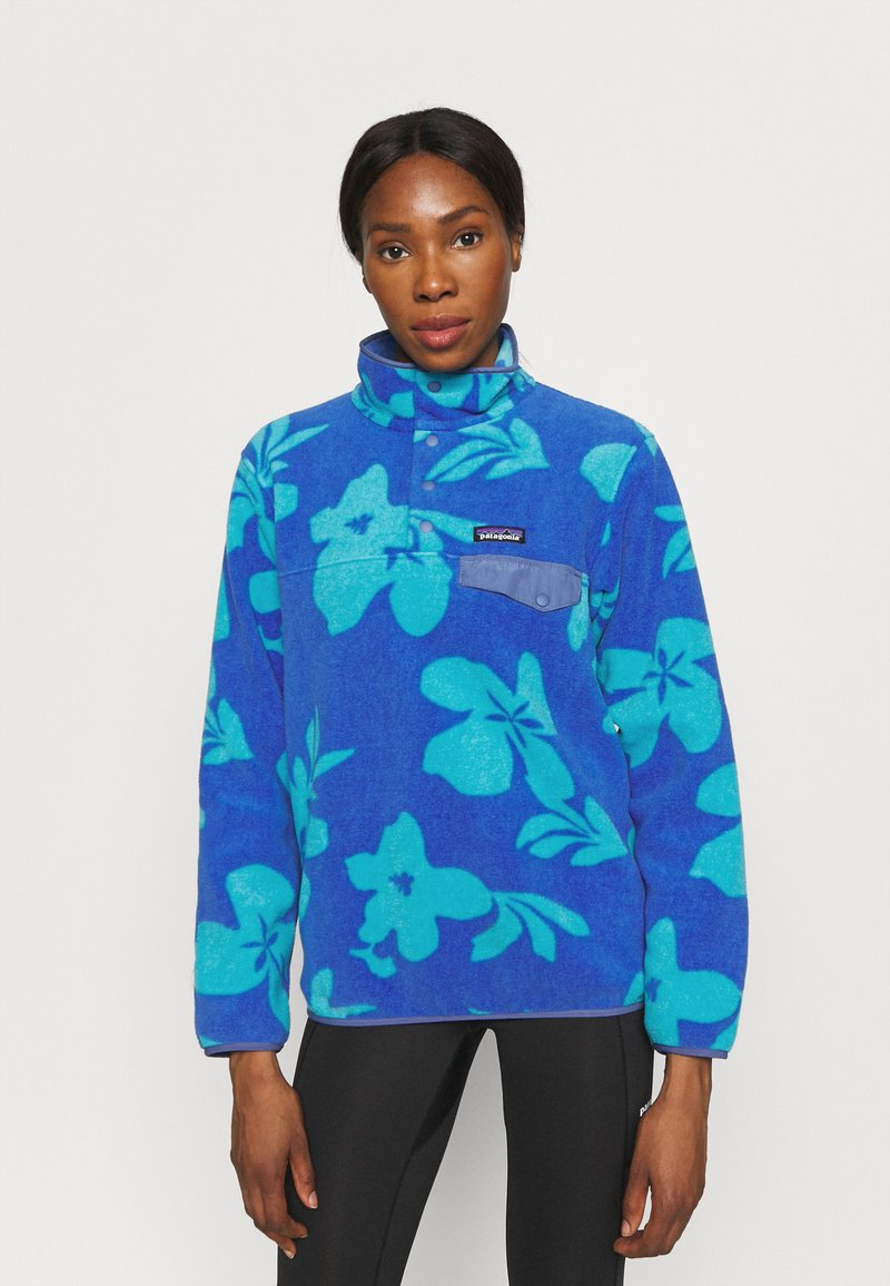 Patagonia - SYNCH SNAP - Fleece jumper - float blue