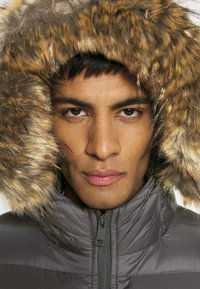 Brave Soul - INVERNESS - Winter jacket - black/grey - 4