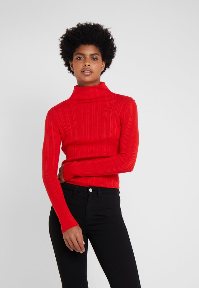 MIA - Sweter - red