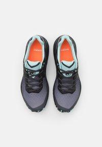 Mammut - SERTIG II LOW WOMEN - Hiking shoes - black/dark frosty - 3