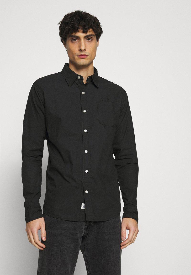 Schott - MARTIN - Shirt - black