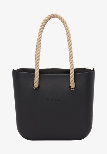 Handbag - nero-beige