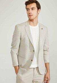 DeFacto - Blazer jacket - beige - 0
