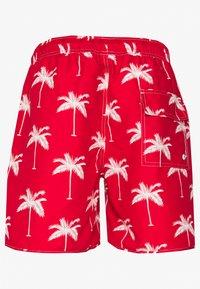 Dedicated - SANDHAMN PALMS - Shortsit - red - 1