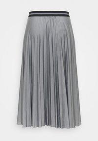 Esprit - PLEATED SKIRT - Pleated skirt - gunmetal - 1