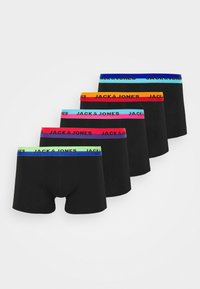 Jack & Jones - JACNEON TRUNKS 5 PACK - Panties - black - 5