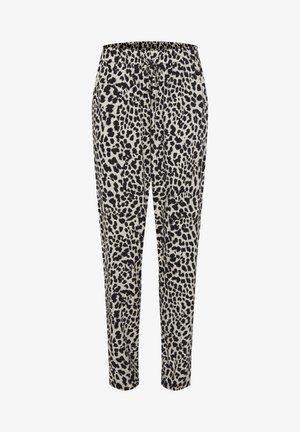 JOELLA   - Trousers - mottled black