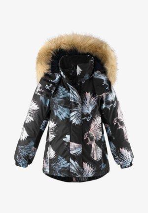 KIELA - Winter coat - schwarz