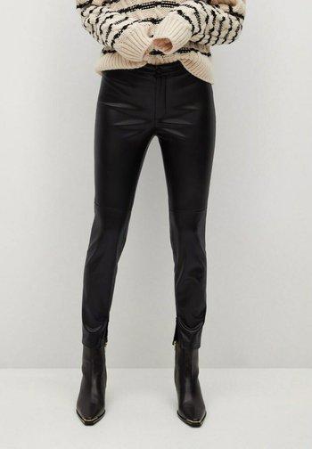 LONDONPU - Leggings - Trousers - black