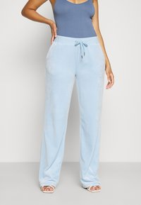Juicy Couture - NUMERAL TRACK PANTS - Joggebukse - powder blue - 0