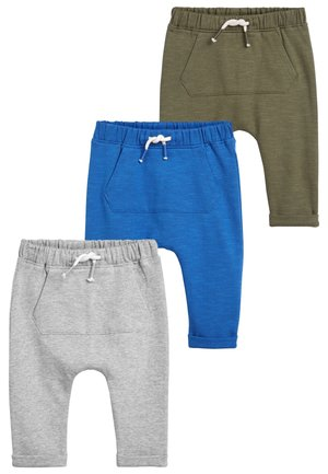 3 PACK JOGGERS - Tracksuit bottoms - blue