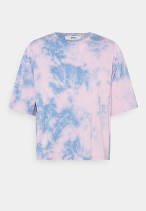 ONLLOLLY TIE DYE - T-shirts med print - forever blue/pink/blue
