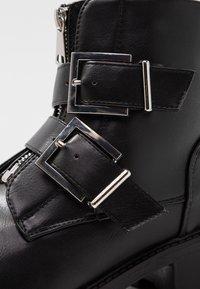 Even&Odd - Cowboy/biker ankle boot - black - 2