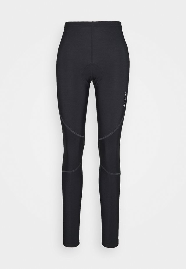 BIKE THERMO - Leggings - black