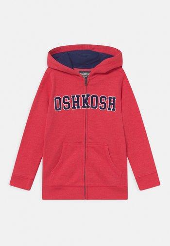 LOGO HOODIE - Zip-up sweatshirt - red