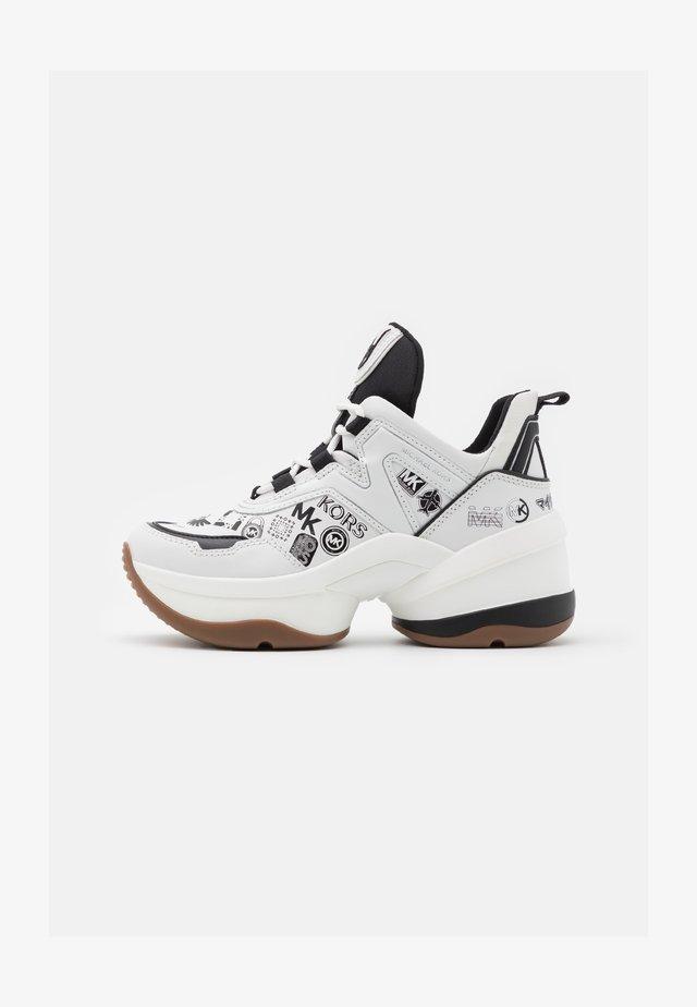 OLYMPIA TRAINER - Zapatillas - optic white/black