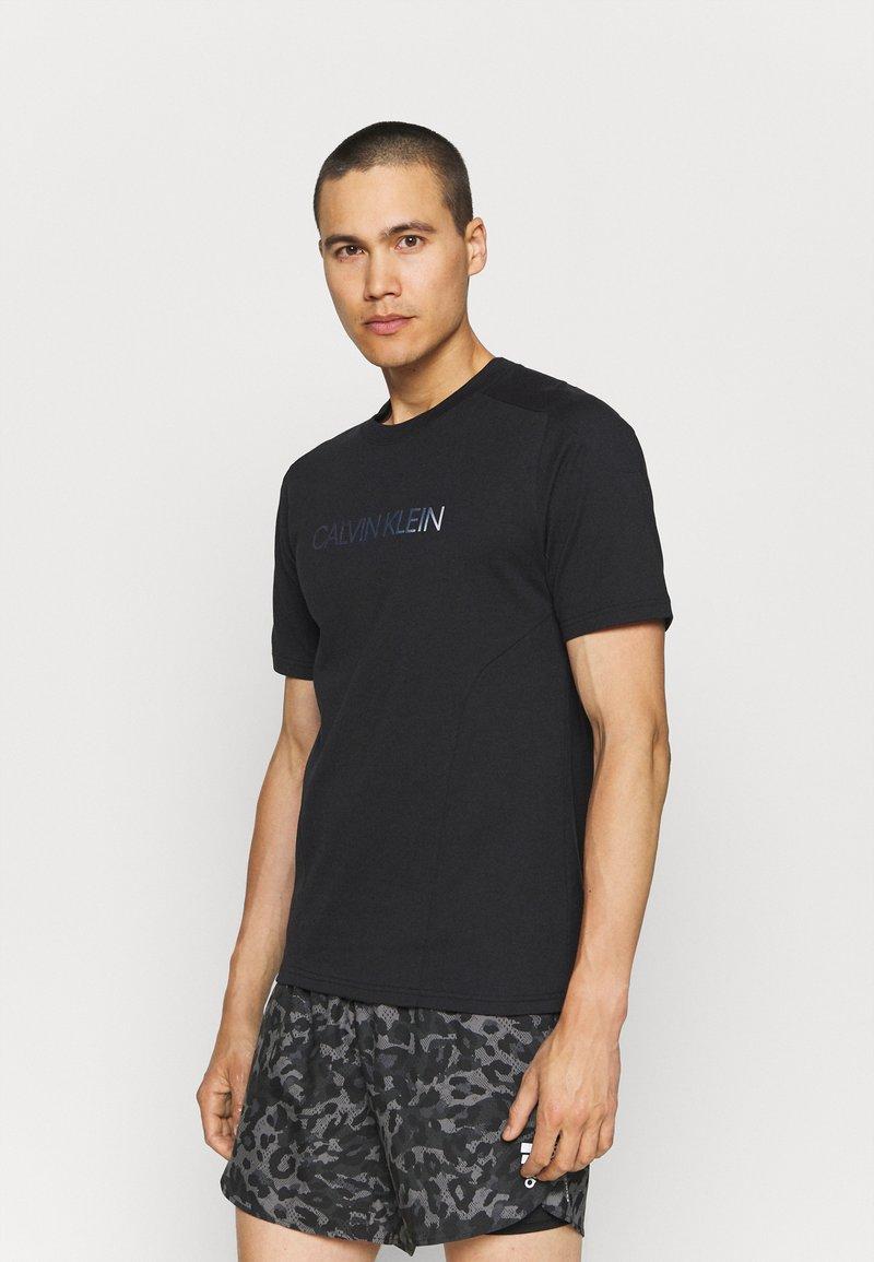 Calvin Klein Performance - T-shirt print - black