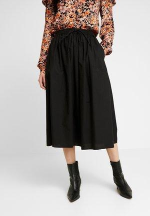 PCBRIANNA MIDI SKIRT - A-line skirt - black