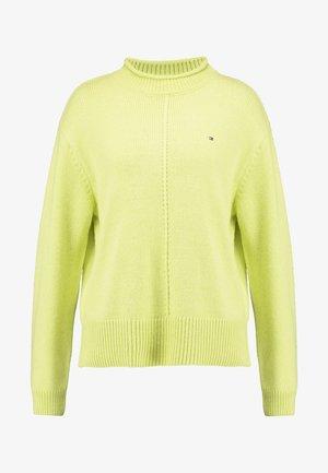 CEVIE MOCK - Jumper - hyper yellow