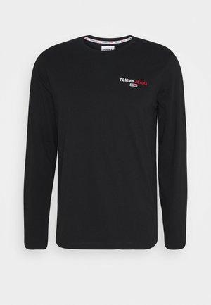 LONGSLEEVE CORP - Long sleeved top - black