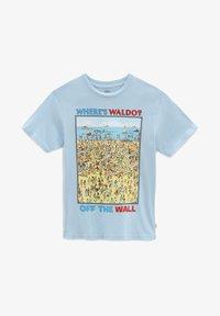 Vans - Print T-shirt - light blue - 2