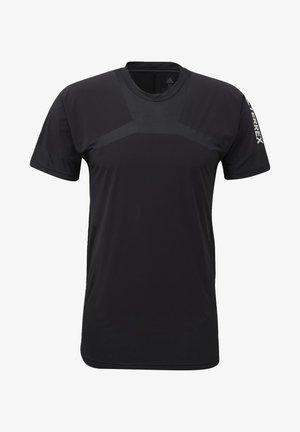 ZUPAHIKE AEROREADY SHIRT - T-shirt med print - black