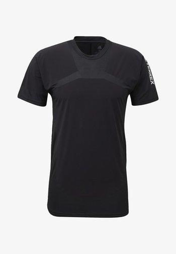 ZUPAHIKE AEROREADY SHIRT - Print T-shirt - black