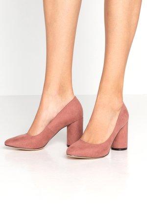 DELIA - Classic heels - blush