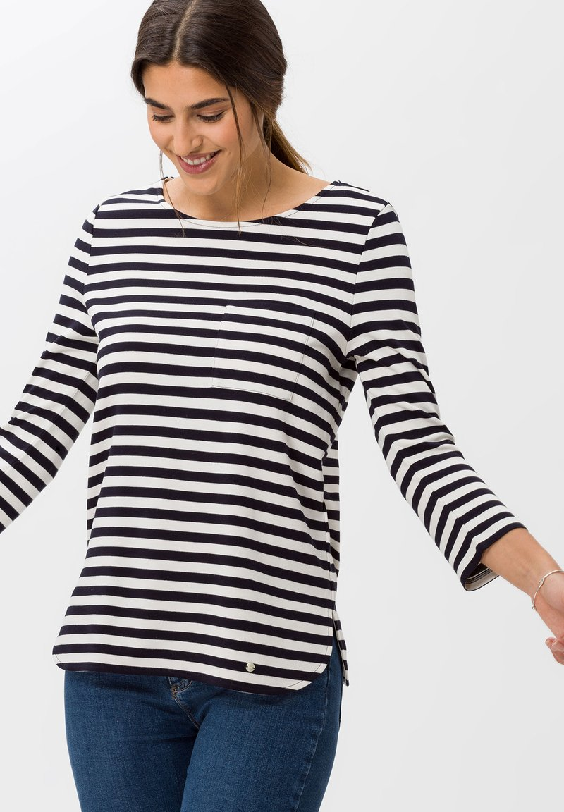 BRAX - STYLE BONNIE - Long sleeved top - navy