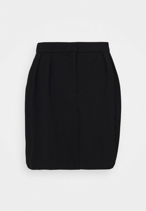 OBJCHIA NICKY SKIRT - Minifalda - black