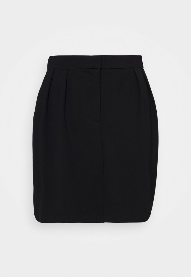 OBJCHIA NICKY SKIRT - Mini skirt - black