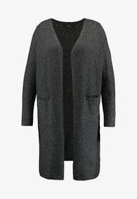 Vero Moda Curve - Neuletakki - black/melange - 3
