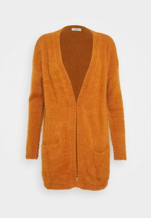 JDYPLEXI CARDIGAN - Cardigan - leather brown