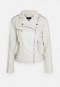 Marks & Spencer London - Faux leather jacket - offwhite - 0