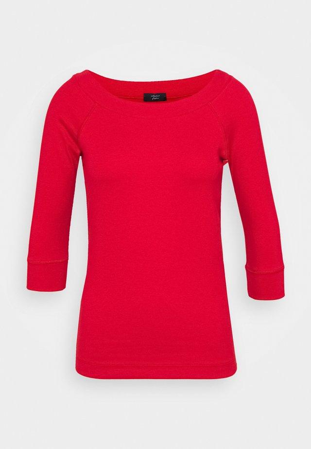 Camiseta de manga larga - cranberry