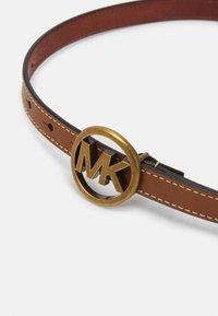 MICHAEL Michael Kors - FLIP TIE BELT - Belt - luggage - 2
